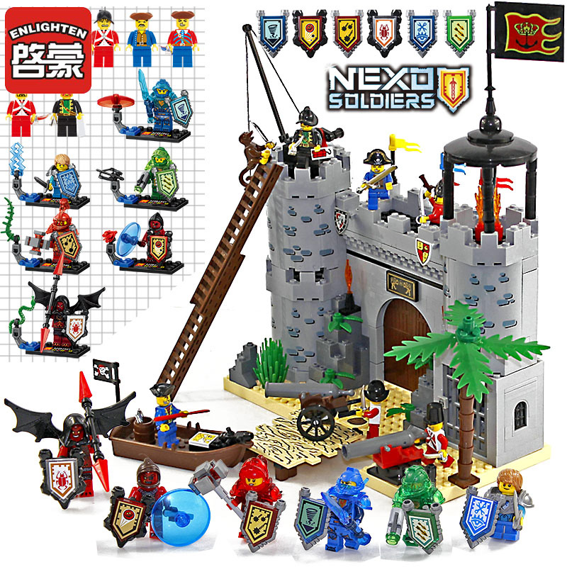 Enlighten Building Blocks 13 Heroes Castle Educational Building Blocks Knight War Weapon Boat Assemblage Blocks Toy For Children cnc 2030 router 3020 4 axis pcb milling machine cnc wood carving machine with 300w spindle usb port