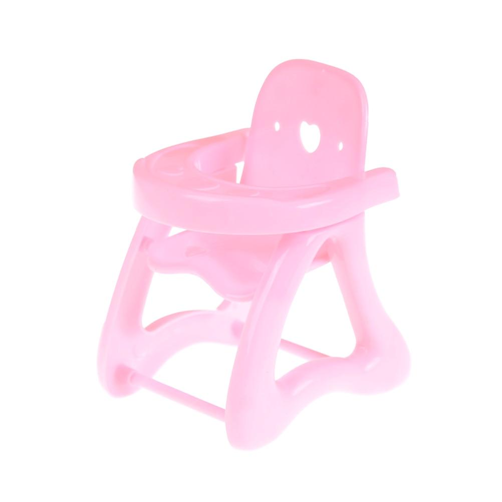 1 Stks Leuke Roze Eetkamerstoel Voor Kylie Pop Eetkamerstoel Speelgoed Gift Voor Kids Baby Poppen Accessoires Goede Smaak