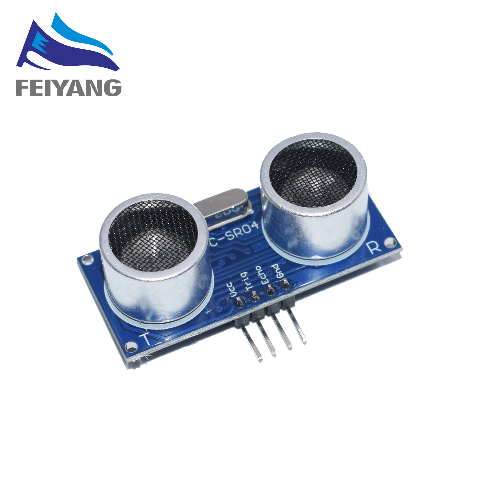 100pcs Ultrasonic Module <font><b>HC</b></font>-<font><b>SR04</b></font> Distance Measuring Transducer <font><b>Sensor</b></font> Samples Best prices image