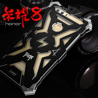 Original Simon Powerful Shockproof Screw Ironman Metal Case For Huawei Honor 8 Aluminum Phone Cases For