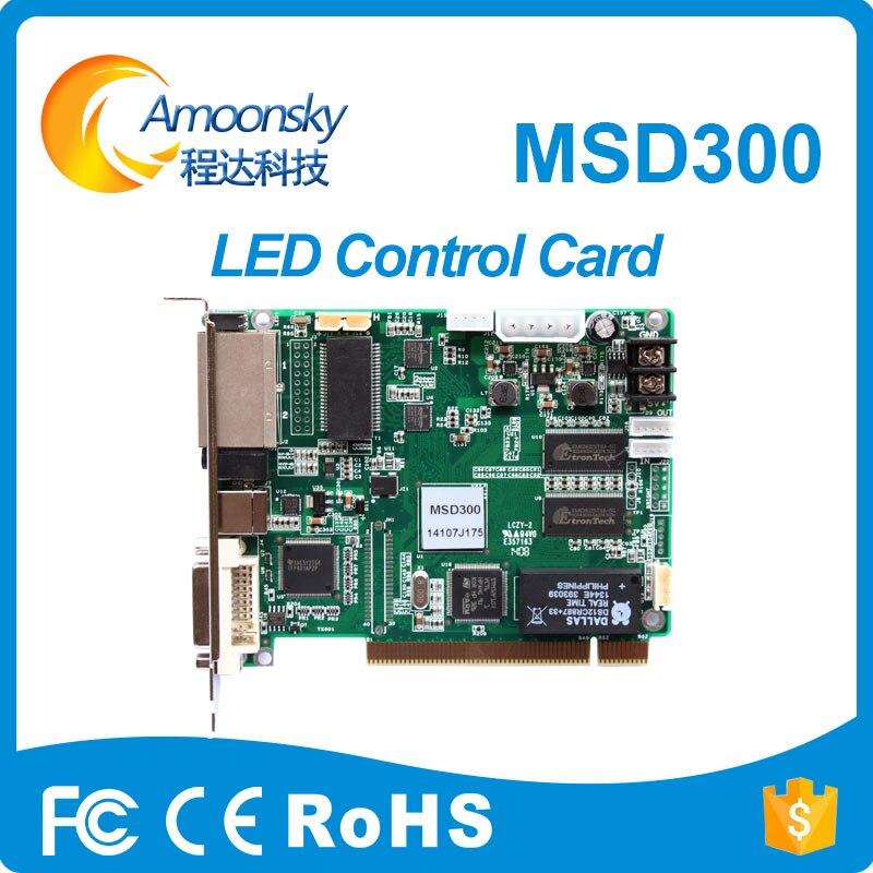 Amoonsky led di sincronizzazione p5 ha condotto il modulo novastar msd300 scheda di controllo video display controllerAmoonsky led di sincronizzazione p5 ha condotto il modulo novastar msd300 scheda di controllo video display controller