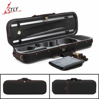 TONGLING High End Violin Case W Hygrometer Canvas Violino Case Free Shipping
