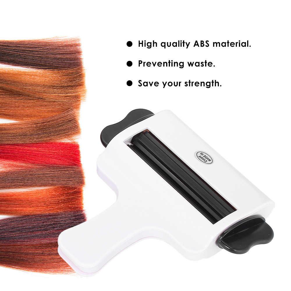 Крем в пластиковой баночке пресс для спагетти зубная паста цвет волос крем соковыжималка салонный пигмент экструдер Парикмахерские Уход легко использовать инструменты