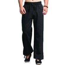 Men Kung Fu Tai Chi Uniform Pantalon Homme Men's Ca
