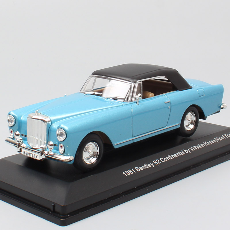 1 43 Classics Bentley Continental S2 DHC Park Ward 1961 Diecast Vehicles Scales Cars Autos Model Toy Gifts Hobby Adult Miniature