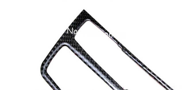Carbon Fiber Centre Console Panel Cover Trim For BMW 3 Series F30 3GT F34  2013 2014 2015 Car Accessiores Styling