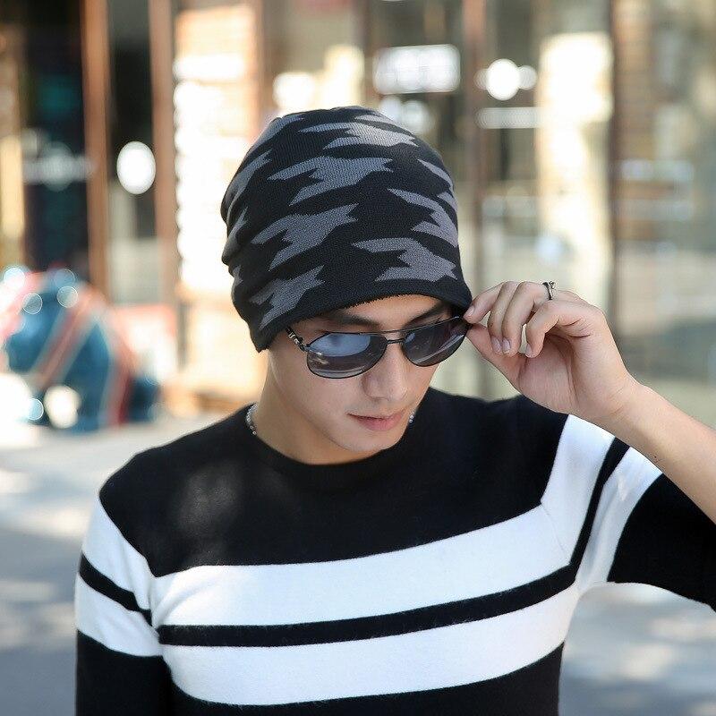 Brand Winter Hats for Women   Skullies     Beanies   Fashion Autumn Warm Knitted Hats Gorros Bonnet Femme Camouflage Cap Comfortable