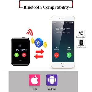 Image 2 - Schlaf Monitor Schrittzähler Smartband kleine Mini handy Bluetooth Smart Uhr MTK2502C MP3 MP4 AEKU i5S Smart Armband