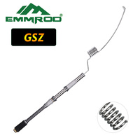 NEW EMMROD Lengthened Spinning Rods Packer Rod Compact Fishing Pole Spin Rod Stainless Portable Ice Fishing rod Boat Raft RodGSZ