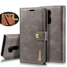 Voor Lg G7 Thinq Echt Leather Case Afneembare Wallet Case Op Voor Lg G7 Thinq V30 V30 + Flip Cases voor Lg V30 Plus Etui Zakken