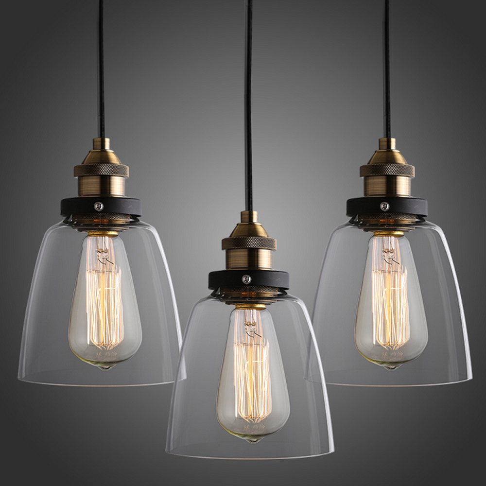 Russia Industrial Pendant Light Dining Living Room Vintage Glass Lighting Nordic Retro Hanging lamp for Home Bar Christmas Decor loft vintage edison glass light ceiling lamp cafe dining bar club aisle t300