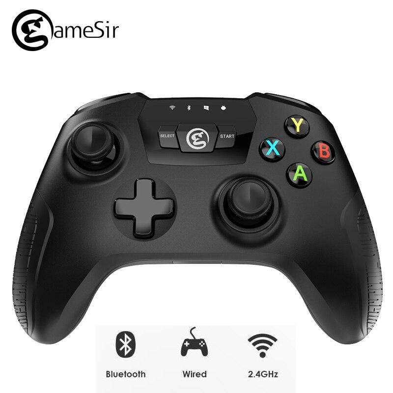 D'origine GameSir T2a Sans Fil Gamepad Bluetooth USB Filaire Contrôleur de Jeu Soutien 3.5 ~ 6-pouces Téléphone pour Android Téléphone /PC/TV Box