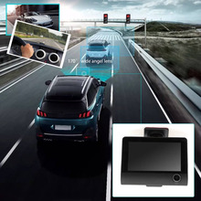 2017 Car Video Recorder Rearview Camera 4.0″ LCD Display Dual Lens G-Sensor HD 1080P Car DVR Dash Cam  Vehicle Recorder