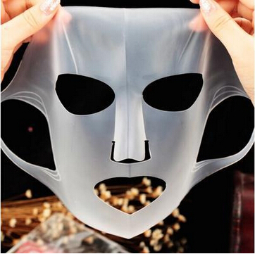 1 Pcs New Silicone Face Mask Cover Prevent Mask Essence Evaporation Speed Up The Absorption Moisturizing Facial Mask Cover