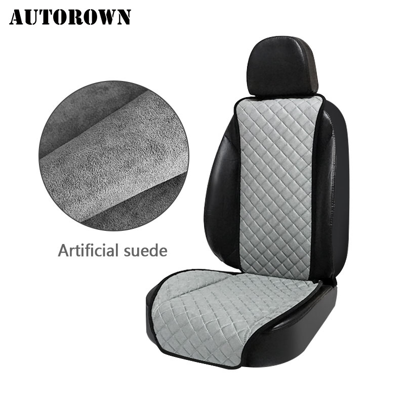 AUTOROWN Car Seat Cover Universal Set For Kia LADA Honda Toyota Lexus Artificial Suede Automobiles Seat Covers  Car Accessories ems hips trainer