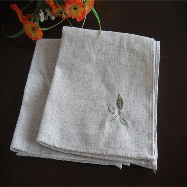 Aliexpresscom Buy Linen kitchen table Placemats Dining  : Linen kitchen table Placemats Dining Table Mats Tableware napkin Embroidered Plants Jute cotton placemats Linen matsjpg640x640 from www.aliexpress.com size 640 x 640 jpeg 122kB
