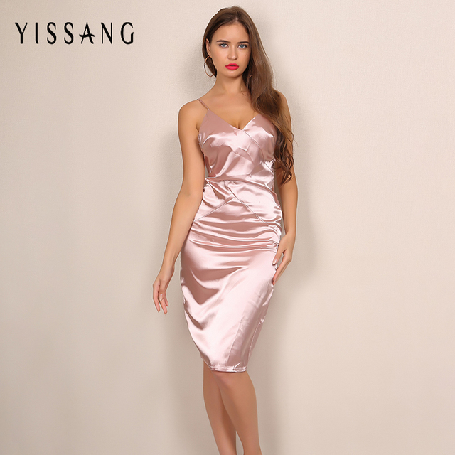 Midi kleider rosa