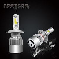 2pcs COB C6 LED Headlight Bulb 40W 3600LM Car Led Light H4 Automobiles 6000K Car