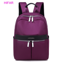 2019 fashion Women Backpack Female Nylon Teens Men Schoolbag Casual Style Student School Bags for Teenage Girls Back Pack Solid цена 2017