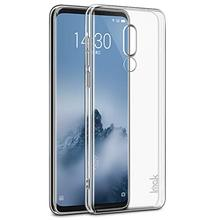 High Transparent TPU Crystal Soft Shock Proof Phone Case For Meizu 16th Plus Clear Absorption Anti Scratch