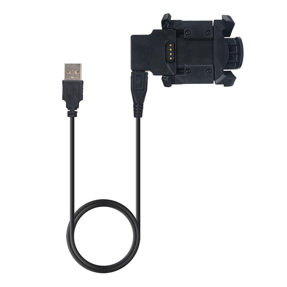 ALLOYSEED 1 m Cable de carga USB Estación de muelle USB cargador de datos Cable Sync para Garmin Fenix 3 HR Smart sostenedor del cargador del reloj