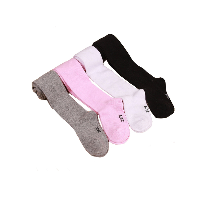 Drop Shipping 1Pcs 0-6Yrs Children Tights Baby Infant Clothing Cotton Girl Pantyhose Kid Infant Knitted Collant Tights Autumn