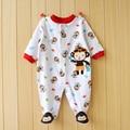 Newborn Baby Romper Long Sleeve Cotton Animal  Baby Boy Girl Clothes Infant Jumpsuit Roupas De Bebe Infantil