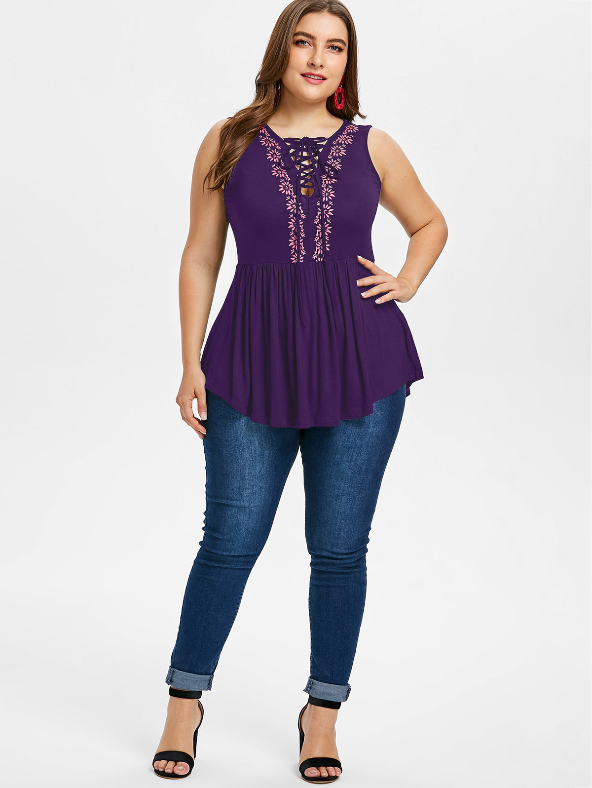 Detail Feedback Questions about Kenancy Plus Size Lace Up Open Back ... 245b66717086