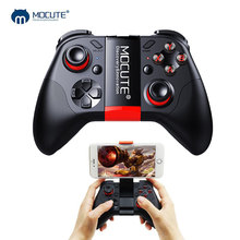 Mocute 054 Gamepad Pubg mobilny kontroler Pubg Android Joystick bezprzewodowy VR Joypad Smartphone Tablet PC telefon Smart TV Pad do grania