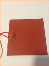 Silicone heating plate heater 12V 150W 155mmx230mm for 3d printer heat bed 1pcs