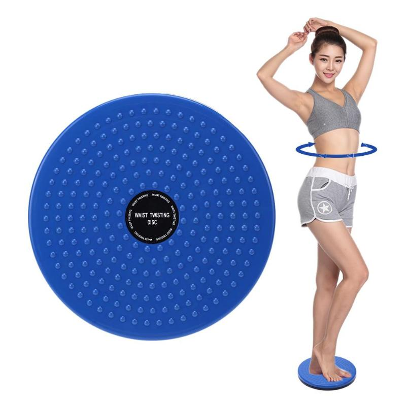 Plastic Waist Twisting Disc Sports Yoga Fitness Board Women Weight Loss Leg Exercise Foot Massage Body Shaping Training Plate