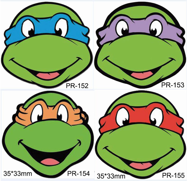 Ninja Turtle Mask Template