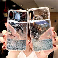 For Samsung Galaxy S10 S8 S9 Plus S7 S6 edge Note 9 8 Quicksand Glitter Case For A50 A70 A6 A8 A7 2018 J3 J5 J7 A3 A5 2017 Cover