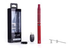 Ec148 erva seca e-cigarro evod 650mah bateria mini atomizador caneta g5 kit