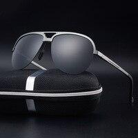2017 Лидер продаж Продвижение взрослых магния Для мужчин S Trendsetter Очки Полуободковые Для мужчин Солнцезащитные очки для женщин поляризованны...