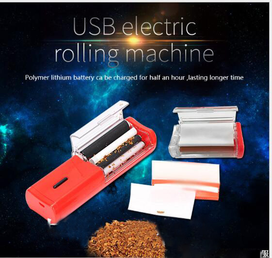USB Electronic Rolling Machine with rechargable built
