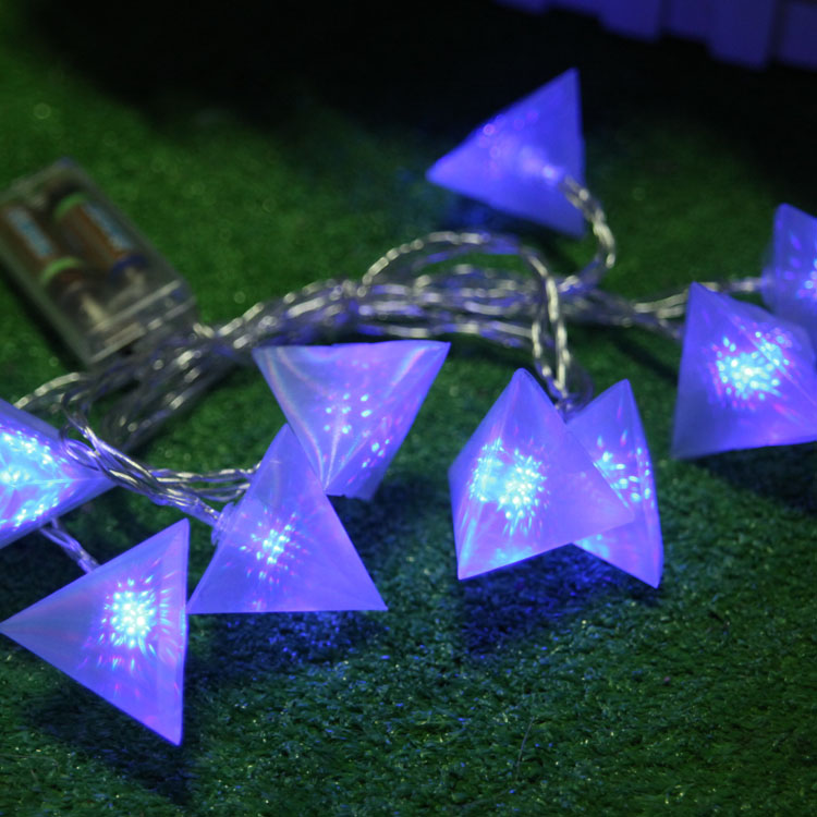 New arrival colorful small night light child wedding supplies 10 nine bird led battery string of lights