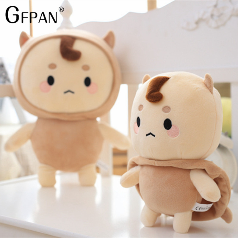 2018 New Fashion 1 pcs 28cm Korean Dolls Brilliant Ghosts &Ghosts Kong Yu With Buckwheat Dolls lovely Plush Toys Children Gifts