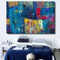 Modern Abstract Art poster Wall Hand painted oil painting on canvas for home decor oil painting arts No framed wall pictures