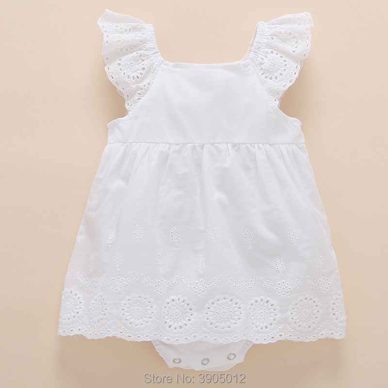 2018 Sale Baby Girl Dress Female Summer 0-1 Year Old Clothes Princess 3-6 Months 12 Years And American Cotton Free Shipping