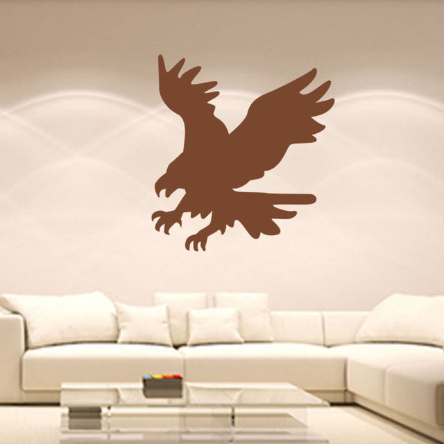 flying eagle vinyl decal wall sticker home decor living room sofa