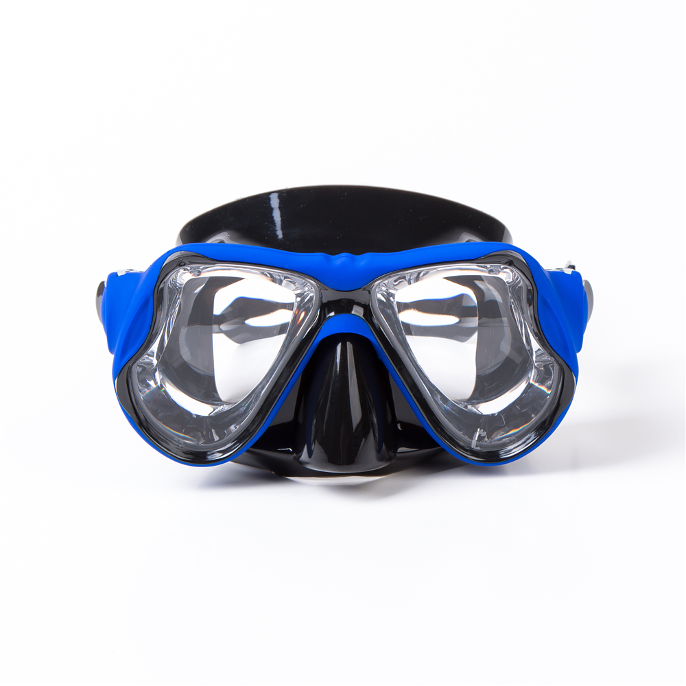 2019 High Quality  Silicone Swimming Mask Goggle Myopia Diving Mask  Prescription Lens Professional PC Scuba Mask