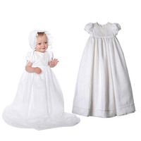 Yatheen Baby Girl Newborn 9m Lace Embroidered Christening Dress Baby Dresses