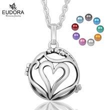 Eudora bola полые сердца медальон клетка с 20 мм chime мексиканский