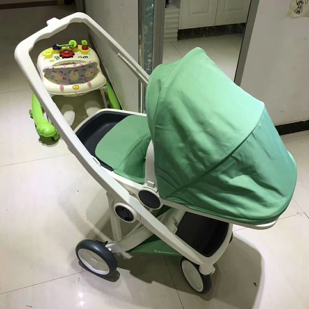 2018 New Baby Stroller Variable Direction High Landscape Portable Baby Carriages Folding Prams For Newborns Travel Stroller baby stroller carrinho de bebe folding portable stroller for newborns baby throne baby carriages easy carry travel strollers