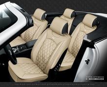 5 מושבי רכב מושב כיסוי ספורט סטיילינג, בכיר עור, כל מוקף רכב כרית מושב, רכב אביזרי פנים
