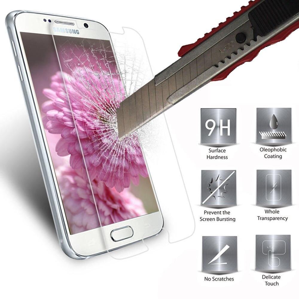 Wangl Mobile Phone Tempered Glass Film 100 PCS 0.26mm 9H 2.5D Tempered Glass Film for Alcatel 5 Tempered Glass Film