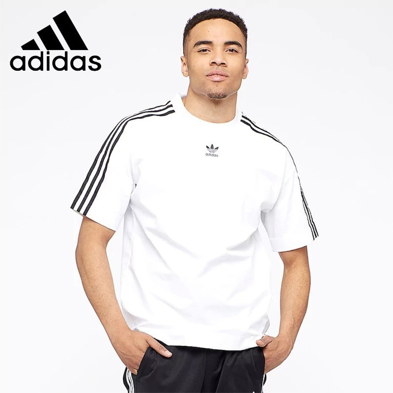 Adidas Man Short Sleeve Running T-shirt Cotton Breathable Woman Sports Shirts CW1216 CW1217 DV3260 DV3262