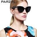 Parzin hecho a mano mujeres polarizadas gafas de sol vintage gafas de sol de moda elegante mujer shades 9631
