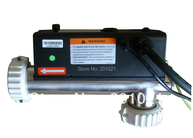 3kw L Shaped Chinese Heater With Pressure Switch Hot Tub